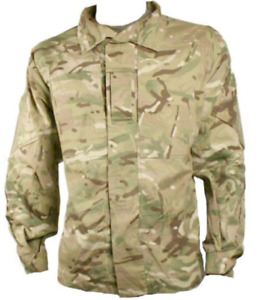 British military jacket combat warm weather MTP multicam shirt various sizes