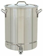 Bayou Classic 16 Gallon Stainless Steel Stock Pot with Spigot