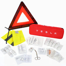 New Tesla Model S/X/3 Roadside Car Safety Kit Vehicle Travel First Aid Traffic