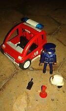 Playmobil 3177 voiture  pompiers