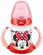 NUK Baby First Choice Trinklernflasche Disney Minnie und Mickey Motive NEU