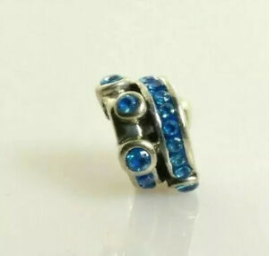 NEW RETIRED Miss Chamilia Cartwheel Turquoise Charm Bead