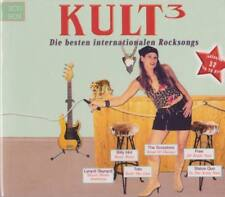KULT 3 Die besten Internationalen Rocksongs 3CD Box Status Quo Toto Billy Idol