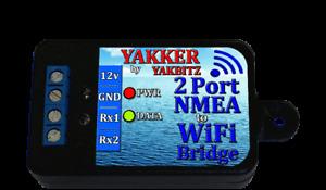 NMEA to WiFi BRIDGE 2 Port Multiplexer
