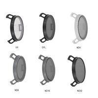 Junestar Objektivfilter UV + CPL + ND4 + ND8 + ND16 + ND32 für DJI MAVIC PRO 4K