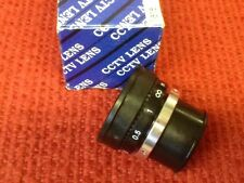 "CCTV LENS - P/N: LCF08 - 8 mm, 1/3"" LENS - NEW"