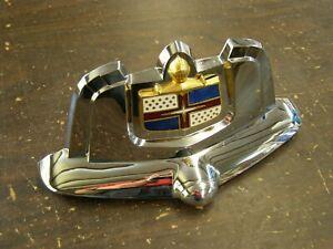 NOS OEM 1950 Lincoln Cosmopolitan Trunk Deck Lid Ornament Emblem Handle Trim