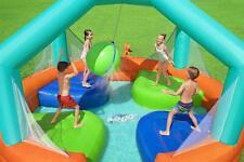 Hüpfburg Wasserspielcenter Spielpool Wasserpark Set aufblasbar bis 4 Kinder Neu