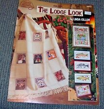 American School of Needlework THE LODGE LOOK Counted Cross Stitch Pattern Gillum
