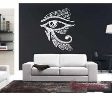 Wall Decal Vinyl Sticker Bedroom Egypt God Sun Ra Eye Feather Face Bird bo2412