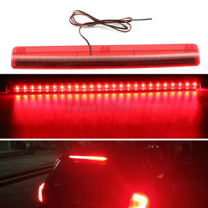12V 25 LED Car High Level Mount Third 3RD Brake Stop Rear Tail Light Lamp Bar US