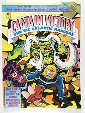 Jack Kirby capitán Victory y los rangers Galactic # 2 (cóndor, Soft Cover)