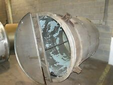 800 gallon 316 Stainless Steel Tank with Paddle Stir. 60� diameter 65� height.