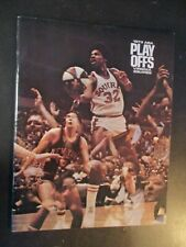 1973 Virginia Squires vs Kentucky Colonels ABA Basketball Playoff Program Dr. J