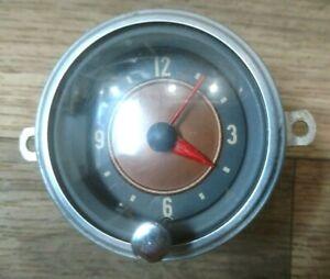 1959 1960 Studebaker Lark Clock fully Reconditioned! Rare!