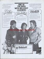 Belstaff One Of The Boys Belstaff Leathers Motorcycle 1978 Magazine Advert #414