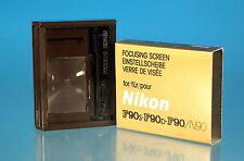 Nikon f90/f90s/f90d/n90 mate disco estándar perfectamente Screen - (76031)
