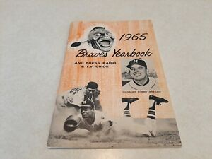 1965 Milwaukee Braves Yearbook And Media Guide Last Year For Them In Milw VG Z2