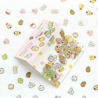 80pcs/set Stickers Cute Anlimals DIY Stickers Japanese Kawaii-Stickers O5W2