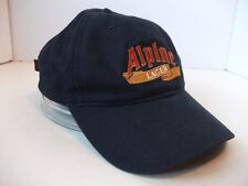 Alpine Lager Beer Dodge Hat Dark Blue Hook Loop Baseball Cap