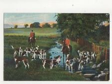Hunting Vintage Postcard Milton Animals 279b