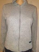 CHAMPION Zip Up Hoodie Sweatshirt Grey Youth Large long sleeve. (A0111)