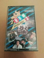 NIOW THAT'S WHAT I CALL MUSIC 3 DOUBLE CASSETTE DURAN FRANKIE GRANDMASTER WHAM