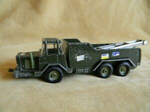 Crescent 1/32 Diecast Metal Army Tow Truck (Britains' scale)