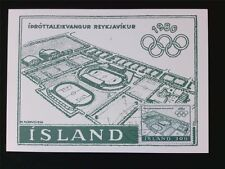ISLAND MK 1980 OLYMPIA OLYMPICS MAXIMUMKARTE CARTE MAXIMUM CARD MC CM c5383