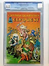 Fantasy Quarterly #1 Graded 8.5 CGC 1st Appearance of Elfquest Comics