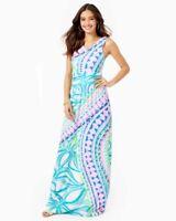 Lilly Pulitzer NWT Sz Small Marco Maxi Dress Coco Island Multi Sleeveless
