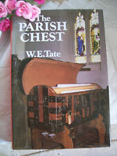 The Parish Chest By W E Tate Third Edition Printed 1983 Records