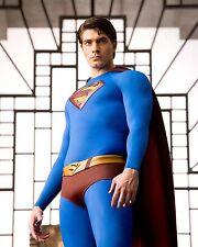 Brandon Routh 8X10 Superman 3 3/4 shot