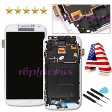 For Samsung Galaxy S4 i9505 LCD Display Digitizer Touch Screen Frame Replacement