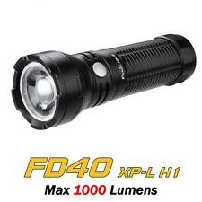 Linterna LED FENIX FD40 Variable Focus 1000 LÚMENES Impermeable Nuevo Modelo