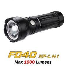 Torcia LED FENIX FD40 Variable Focus 1000 LUMENS Impermeabile *Nuovo Modello*
