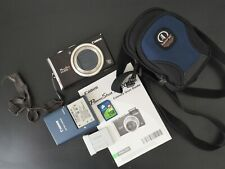 Canon PowerShot SX200 IS Digital Camera, Charger + 2 Batteries, Case, 2GB Card