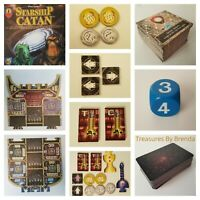 SPARE REPLACEMENT PIECES PARTS ONLY for Starship Catan Game - YOU PICK