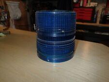 New listing Whelen 1200 Strobe Series Blue Dome