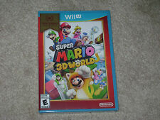 SUPER MARIO 3D WORLD...NINTENDO WII U SELECTS...***SEALED***BRAND NEW***!!!!!!!