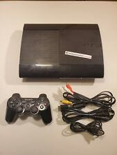 PS3 Super Slim (CECH-4201A) 💥1 TERABYTE HARD DRIVE!💥 ~ Tested ~ Mint