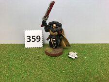 359. Games Workshop Citadel Warhammer 40kBlack Templar Sword Brethren Metal