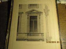 Planche Hôtel Avenue Louise à Bruxelles - Fenêtre premier étage 1892