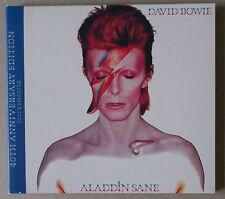 CD  ***  DAVID BOWIE. ALADDIN SANE ***  40TH ANNIVERSARY EDITION