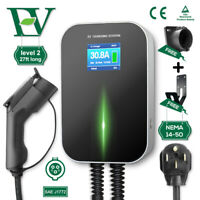 EV Charging Station 32A Level 2 Electric Vehicle Car Charger Cable NEMA 14-50 P