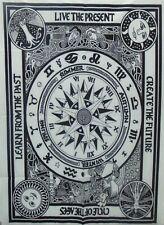 Tapestry Astrology Black White Mandala Wall Hanging Zodiac Decor Poster Home Art