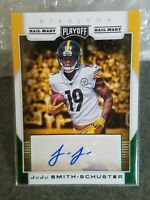 2017 Playoff Football Juju Smith-Schuster  Rookie Autograph Pittsburgh Steelers