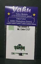 Yahu modèles 1/72 ème 04899 Revell, PE instrument panneaux A6M2 NAKAJIMA vert pour tamyia, yma7262