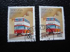 PORTUGAL - timbre yvert et tellier n° 1768 x2 obl (A28) stamp (G)