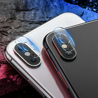 For iPhone XR XS Max Back Camera Lens Screen Real Tempered Glass Film Protector